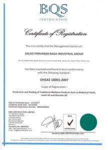 استاندارد بین المللی مدیریت ایمنی و بهداشت شغلی